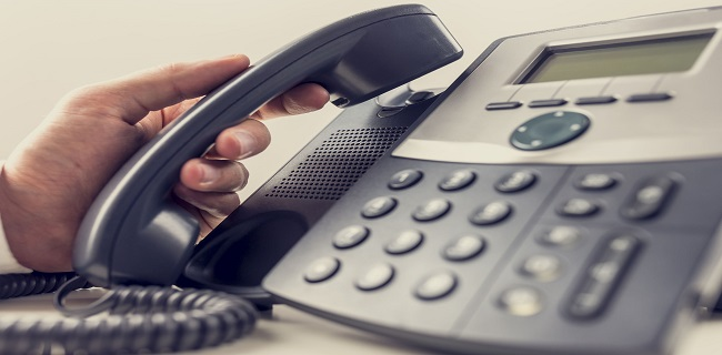 Using the phone B2B sales