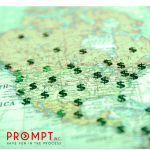 Map sales process